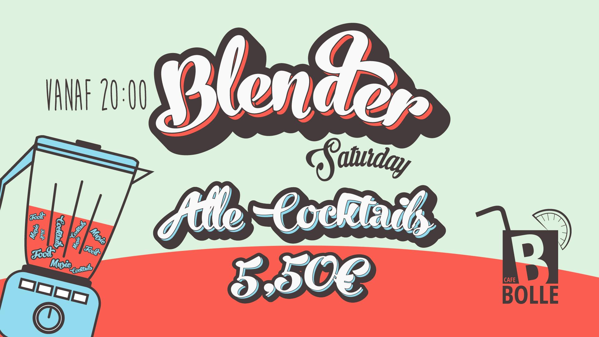 Iedere zaterdag: Blender Saturday